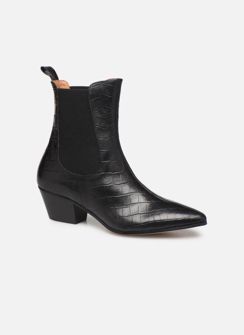 Bottines et boots Made by SARENZA Soft Folk Boots #5 Noir vue droite