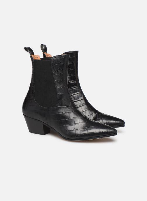 Bottines et boots Made by SARENZA Soft Folk Boots #5 Noir vue derrière
