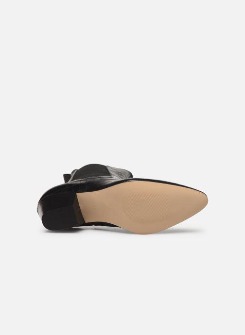 Bottines et boots Made by SARENZA Soft Folk Boots #5 Noir vue haut