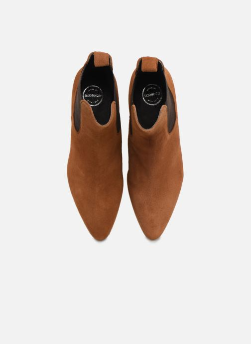 Stivaletti e tronchetti Made by SARENZA Soft Folk Boots #5 Marrone modello indossato