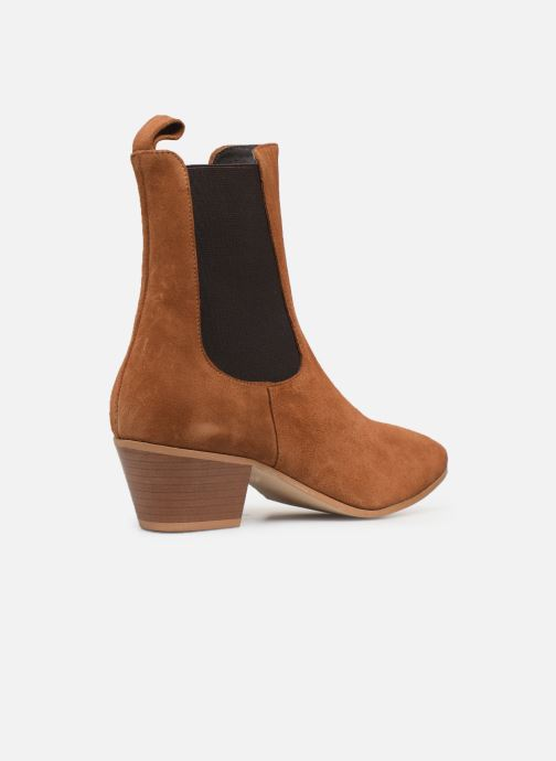 Stivaletti e tronchetti Made by SARENZA Soft Folk Boots #5 Marrone immagine frontale