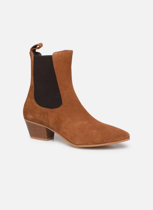 Stivaletti e tronchetti Made by SARENZA Soft Folk Boots #5 Marrone immagine destra
