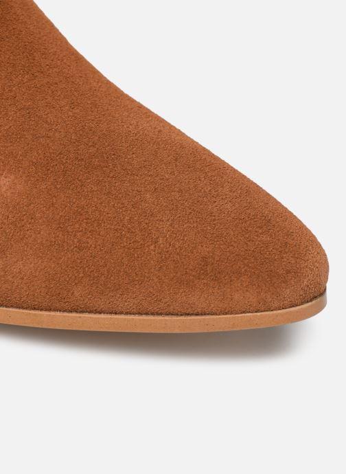 Stivaletti e tronchetti Made by SARENZA Soft Folk Boots #5 Marrone immagine sinistra