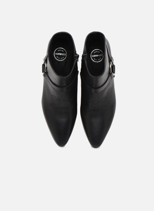 Stivaletti e tronchetti Made by SARENZA Soft Folk Boots #4 Nero modello indossato