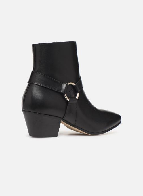 Ankelstøvler Made by SARENZA Soft Folk Boots #4 Sort se forfra
