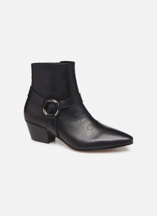 Botines  Made by SARENZA Soft Folk Boots #4 Negro vista lateral derecha