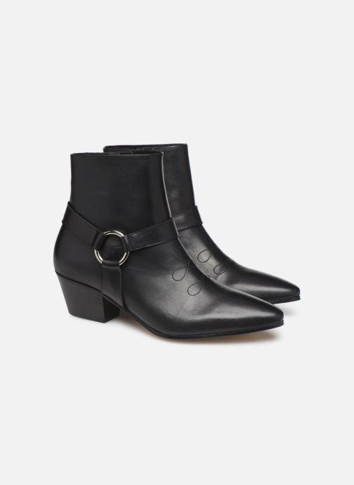 Ankelstøvler Made by SARENZA Soft Folk Boots #4 Sort se bagfra