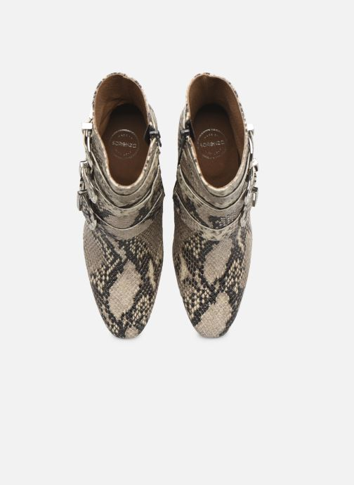 Botines  Made by SARENZA Soft Folk Boots #8 Beige vista del modelo