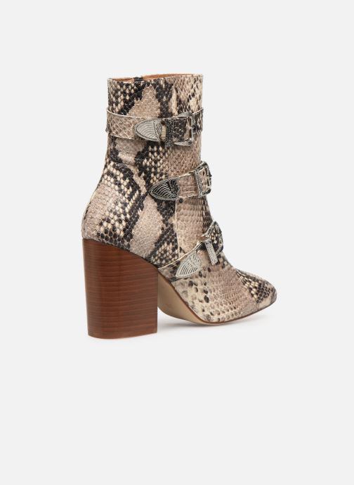 Bottines et boots Made by SARENZA Soft Folk Boots #8 Beige vue face