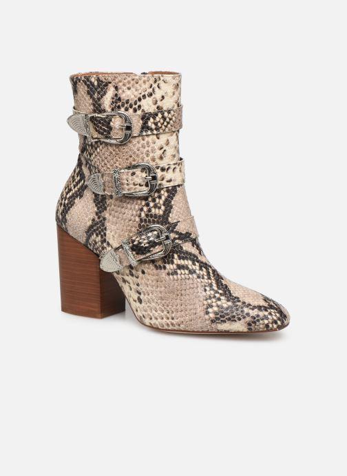 Bottines et boots Made by SARENZA Soft Folk Boots #8 Beige vue droite