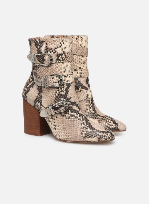 Botines  Made by SARENZA Soft Folk Boots #8 Beige vistra trasera