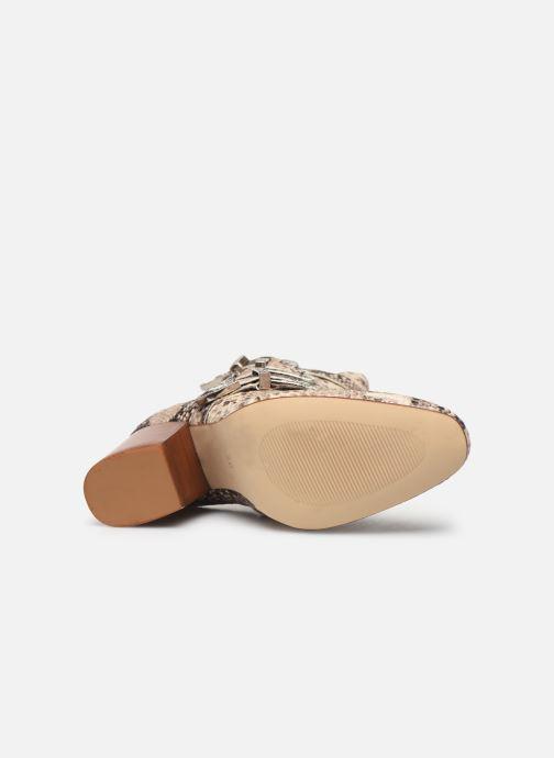 Bottines et boots Made by SARENZA Soft Folk Boots #8 Beige vue haut