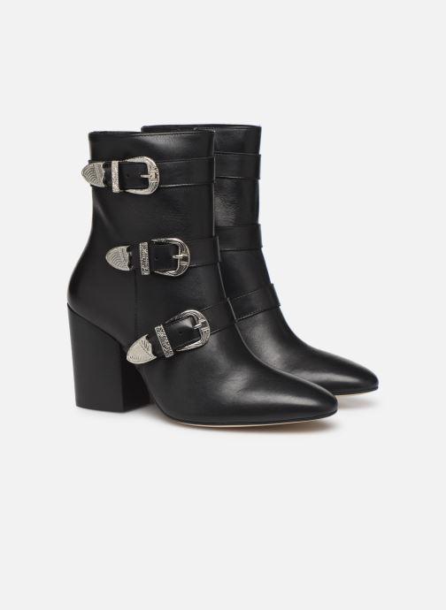 Botines  Made by SARENZA Soft Folk Boots #8 Negro vistra trasera