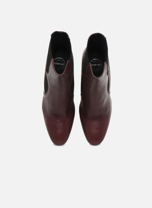 Bottines et boots Made by SARENZA Soft Folk Boots #7 Bordeaux vue portées chaussures