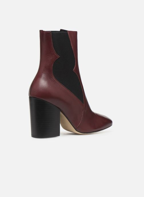 Stiefeletten & Boots Made by SARENZA Soft Folk Boots #7 weinrot ansicht von vorne
