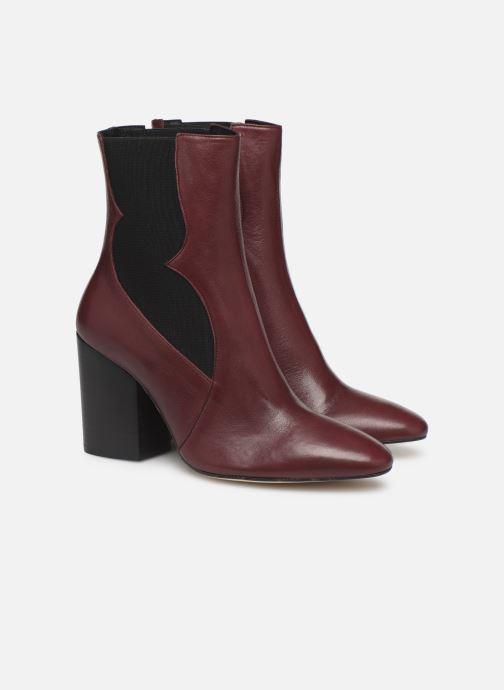 Stiefeletten & Boots Made by SARENZA Soft Folk Boots #7 weinrot ansicht von hinten