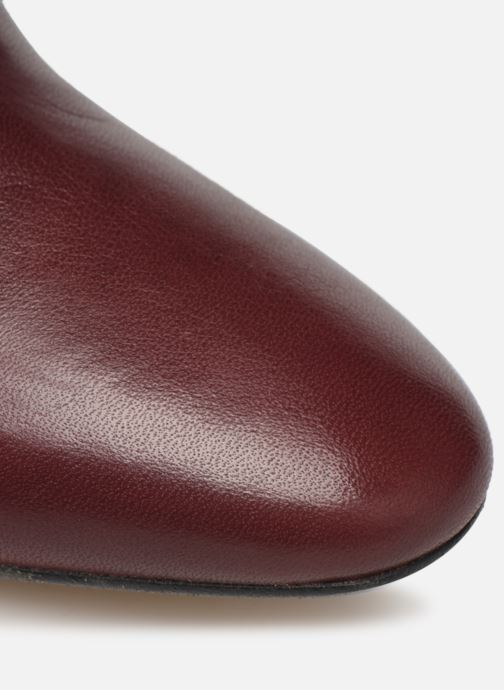 Ankle boots Made by SARENZA Soft Folk Boots #7 Burgundy view from the left