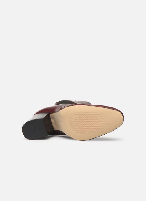 Stiefeletten & Boots Made by SARENZA Soft Folk Boots #7 weinrot ansicht von oben