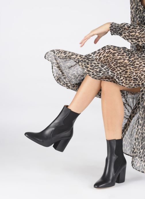 Bottines et boots Made by SARENZA Soft Folk Boots #7 Noir vue bas / vue portée sac