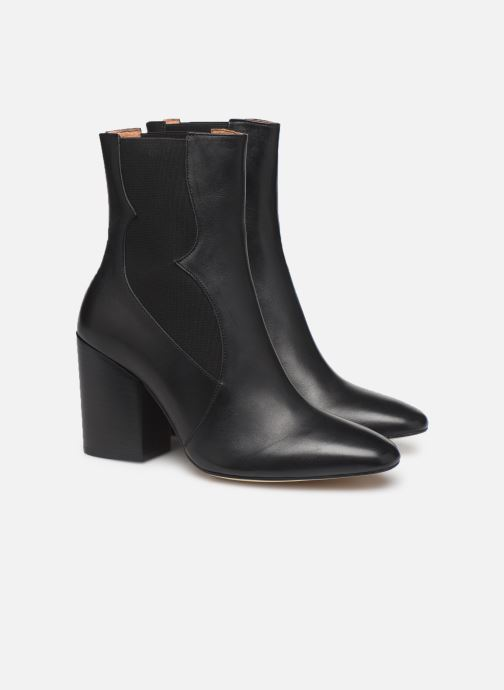 Botines  Made by SARENZA Soft Folk Boots #7 Negro vistra trasera