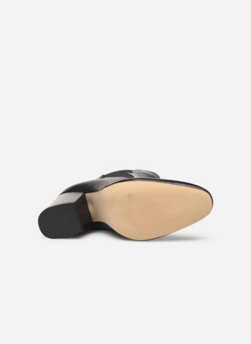 Bottines et boots Made by SARENZA Soft Folk Boots #7 Noir vue haut