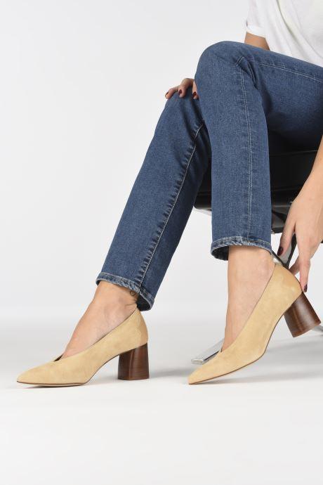 Zapatos de tacón Made by SARENZA Soft Folk Escarpin #5 Beige vista de abajo