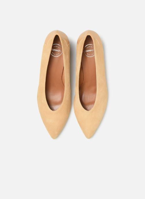 Zapatos de tacón Made by SARENZA Soft Folk Escarpin #5 Beige vista del modelo