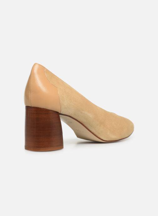 Zapatos de tacón Made by SARENZA Soft Folk Escarpin #5 Beige vista de frente