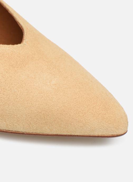 Zapatos de tacón Made by SARENZA Soft Folk Escarpin #5 Beige vista lateral izquierda