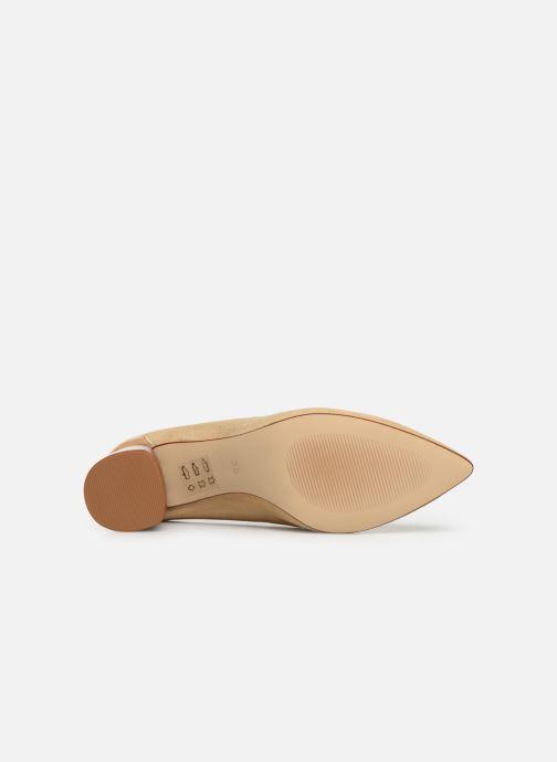 Zapatos de tacón Made by SARENZA Soft Folk Escarpin #5 Beige vista de arriba