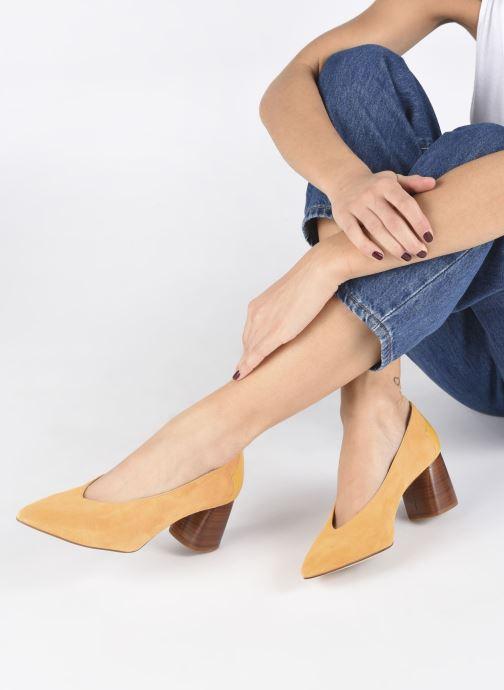 Zapatos de tacón Made by SARENZA Soft Folk Escarpin #5 Amarillo vista de abajo