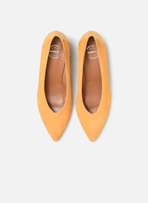 Zapatos de tacón Made by SARENZA Soft Folk Escarpin #5 Amarillo vista del modelo