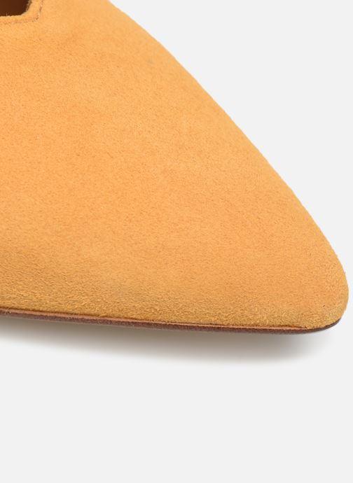 Zapatos de tacón Made by SARENZA Soft Folk Escarpin #5 Amarillo vista lateral izquierda