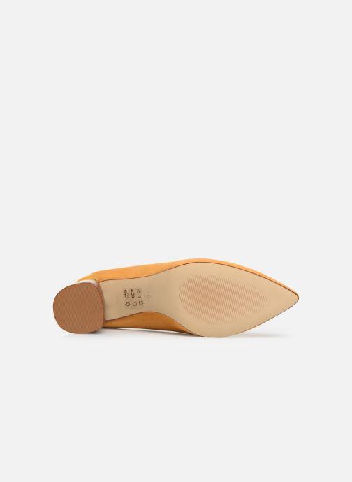 Zapatos de tacón Made by SARENZA Soft Folk Escarpin #5 Amarillo vista de arriba