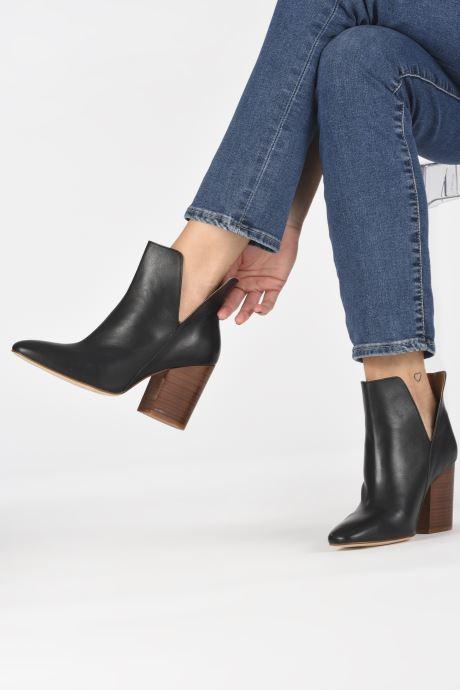 Bottines et boots Made by SARENZA Night Rock Boots #3 Noir vue bas / vue portée sac