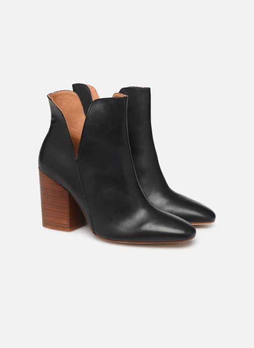 Botines  Made by SARENZA Night Rock Boots #3 Negro vistra trasera