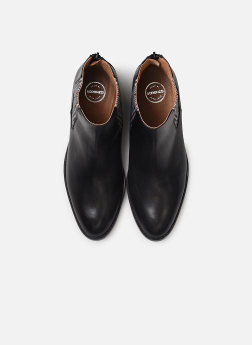 Bottines et boots Made by SARENZA Retro Dandy Boots #7 Noir vue portées chaussures