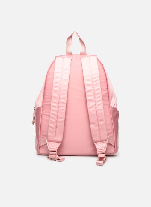 Sacs à dos Eastpak PADDED PACK'R SATINSFACTION Rose vue face