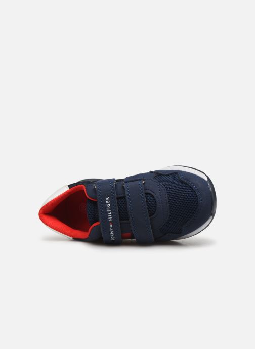 Sneakers Tommy Hilfiger Tommy 30481 Blauw links