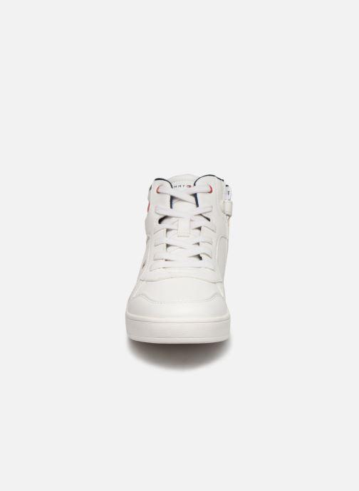 Sneaker Tommy Hilfiger Tommy 30498 weiß schuhe getragen