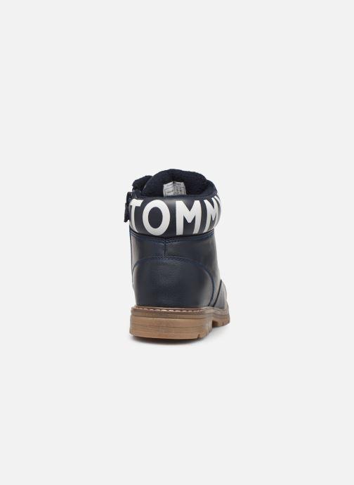 Stiefeletten & Boots Tommy Hilfiger Tommy 30529/30528 blau ansicht von rechts