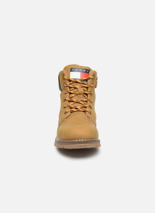 Bottines et boots Tommy Hilfiger Tommy 30529/30528 Marron vue portées chaussures