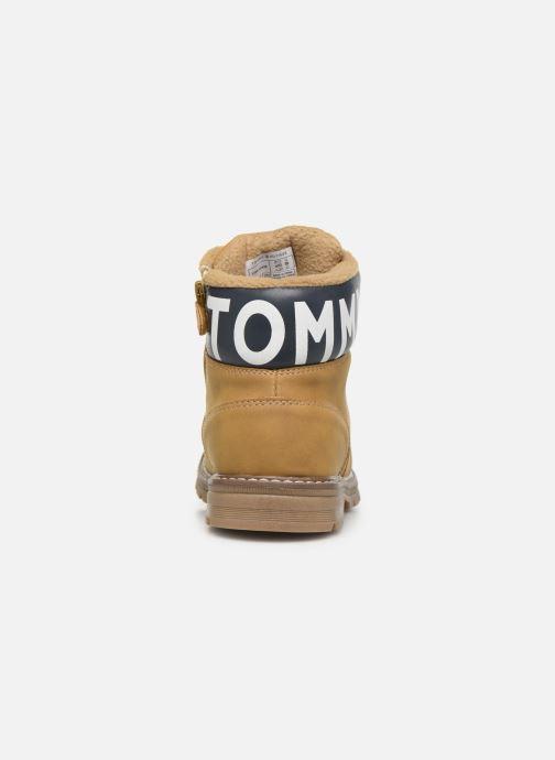 Ankelstøvler Tommy Hilfiger Tommy 30529/30528 Brun Se fra højre