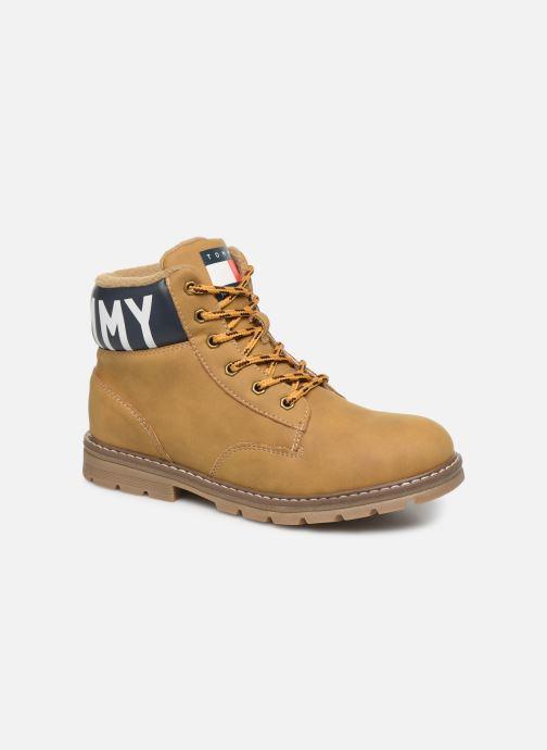Ankelstøvler Tommy Hilfiger Tommy 30529/30528 Brun detaljeret billede af skoene
