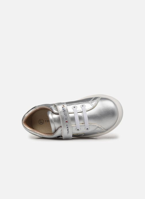 Sneakers Tommy Hilfiger Tommy 30423 Argento immagine sinistra