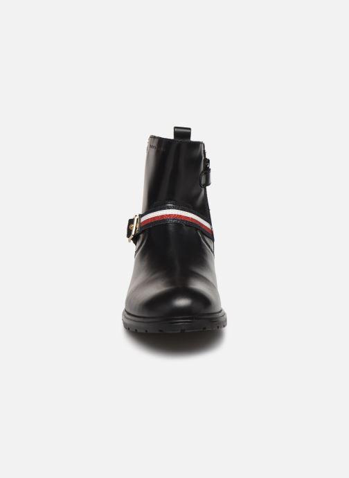 Stiefeletten & Boots Tommy Hilfiger Tommy 30461 schwarz schuhe getragen