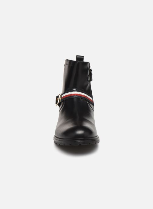 Bottines et boots Tommy Hilfiger Tommy 30461 Noir vue portées chaussures