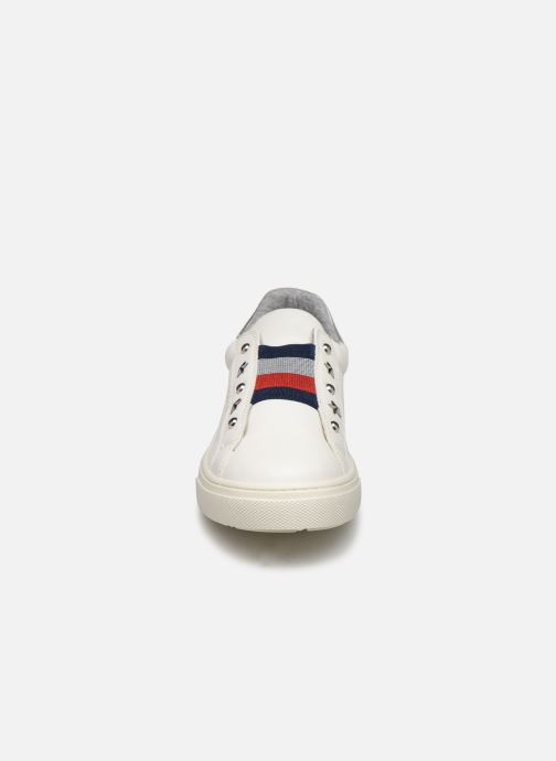 Baskets Tommy Hilfiger Tommy 30435 Blanc vue portées chaussures