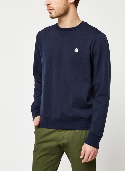 Vêtements Element Cornell Classic Cr Bleu vue droite