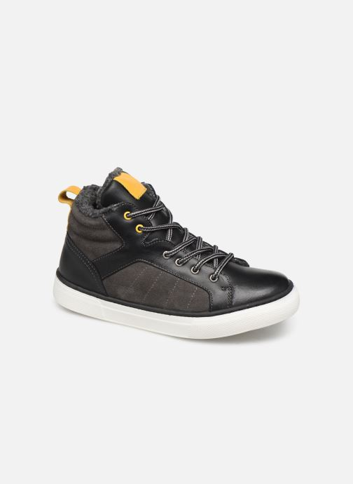 Trainers I Love Shoes SONI LEATHER Grey detailed view/ Pair view